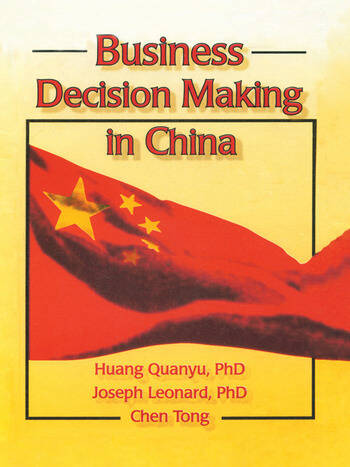Business Decision Making in China book cover