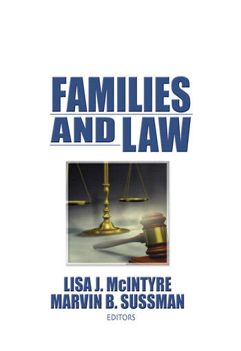 Families and Law book cover
