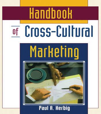 Handbook of Cross-Cultural Marketing book cover