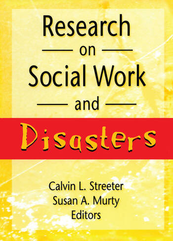 Research on Social Work and Disasters book cover