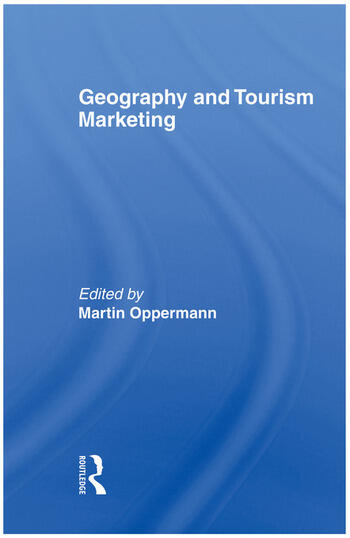 Geography and Tourism Marketing book cover