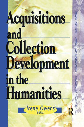 Acquisitions and Collection Development in the Humanities book cover