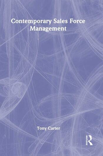 Contemporary Sales Force Management book cover