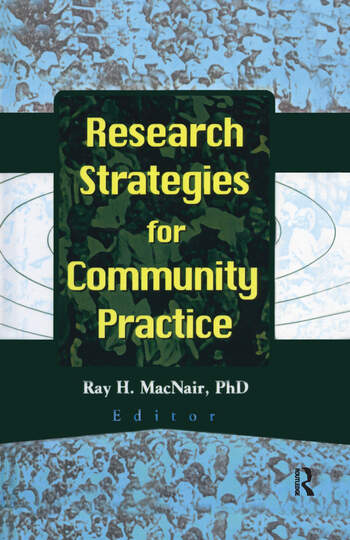 Research Strategies for Community Practice book cover