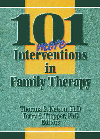 101 More Interventions in Family Therapy book cover