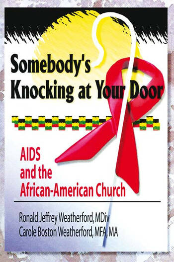 Somebody's Knocking at Your Door AIDS and the African-American Church book cover