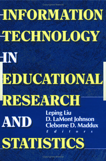 Information Technology in Educational Research and Statistics book cover