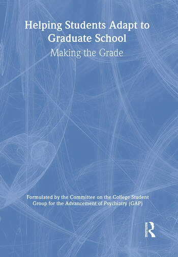 Helping Students Adapt to Graduate School Making the Grade book cover