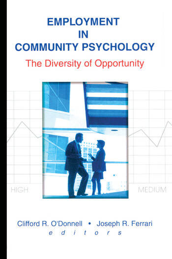 Employment in Community Psychology The Diversity of Opportunity book cover