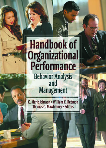 Handbook of Organizational Performance Behavior Analysis and Management book cover