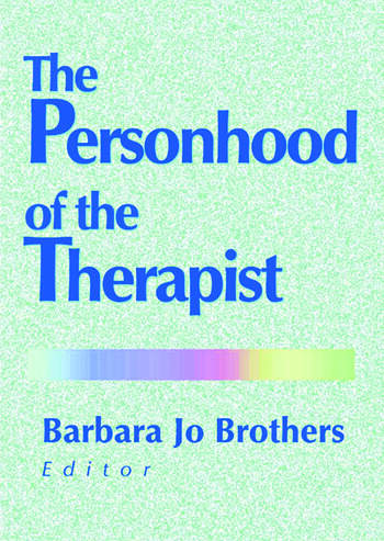 The Personhood of the Therapist book cover
