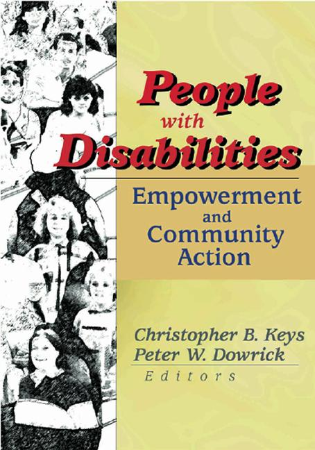 People with Disabilities Empowerment and Community Action book cover