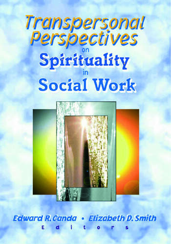 Transpersonal Perspectives on Spirituality in Social Work book cover