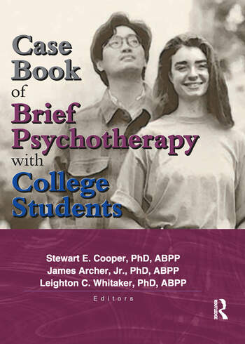 Case Book of Brief Psychotherapy with College Students book cover