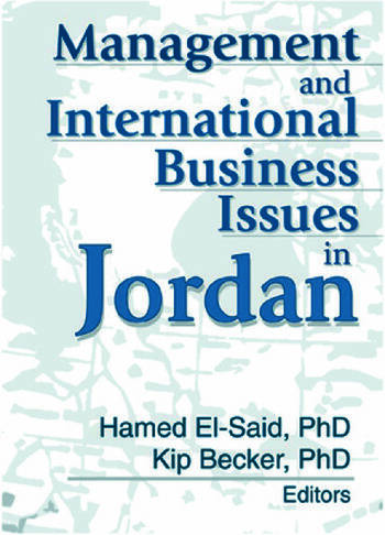 Management and International Business Issues in Jordan book cover