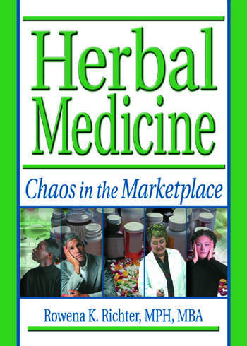 Herbal Medicine Chaos in the Marketplace book cover