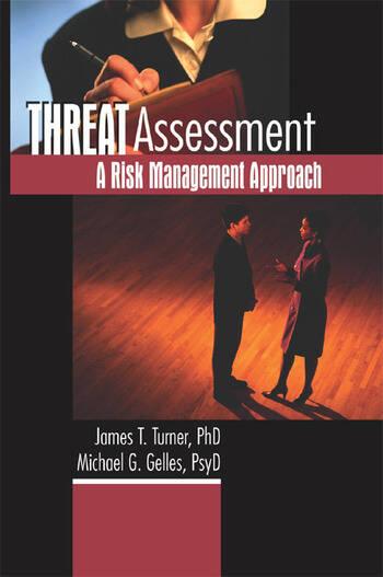 Threat Assessment A Risk Management Approach book cover