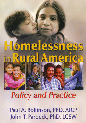 Homelessness in Rural America Policy and Practice book cover