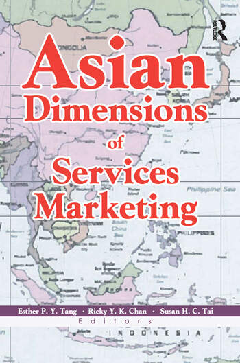 Asian Dimensions of Services Marketing book cover