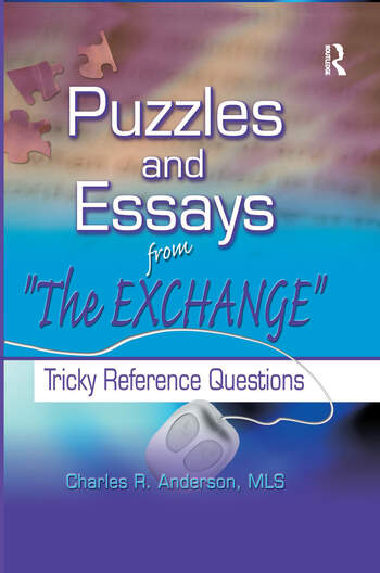 Puzzles and Essays from 'The Exchange' Tricky Reference Questions book cover