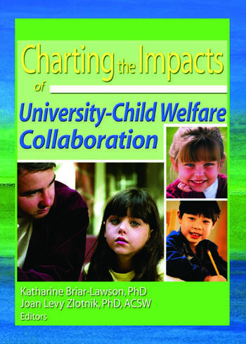 Charting the Impacts of University-Child Welfare Collaboration book cover