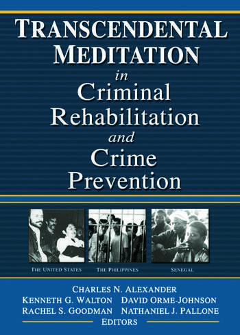 Transcendental Meditation® in Criminal Rehabilitation and Crime Prevention book cover