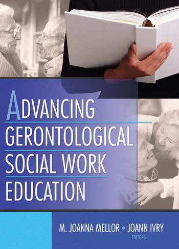 Advancing Gerontological Social Work Education book cover