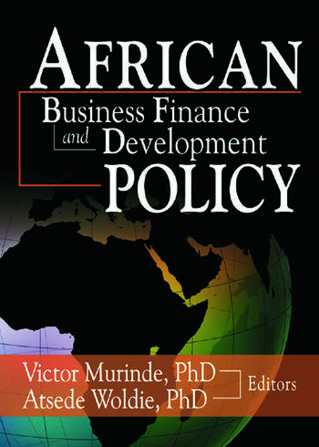 African Development Finance and Business Finance Policy book cover