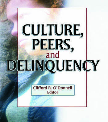 Culture, Peers, and Delinquency book cover