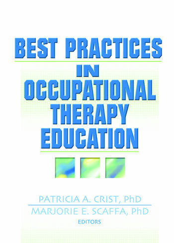 Best Practices in Occupational Therapy Education book cover