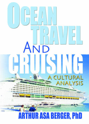 Ocean Travel and Cruising A Cultural Analysis book cover