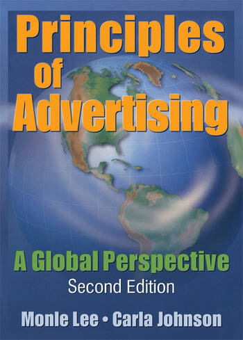Principles of Advertising A Global Perspective, Second Edition book cover