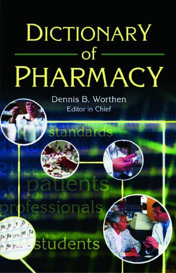 Dictionary of Pharmacy book cover