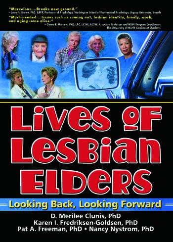 Lives of Lesbian Elders Looking Back, Looking Forward book cover
