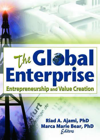 The Global Enterprise Entrepreneurship and Value Creation book cover