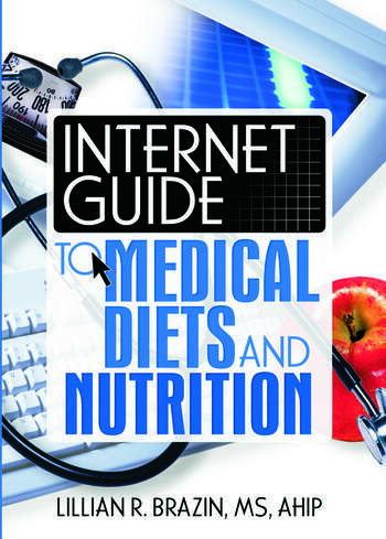 Internet Guide to Medical Diets and Nutrition book cover