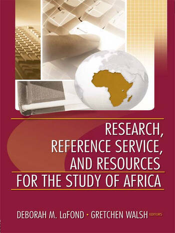 Research, Reference Service, and Resources for the Study of Africa book cover
