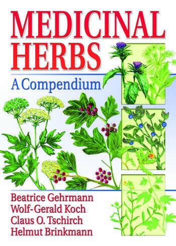 Medicinal Herbs A Compendium book cover