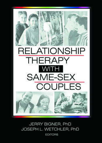 Relationship Therapy with Same-Sex Couples book cover