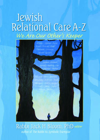Jewish Relational Care A-Z We Are Our Other's Keeper book cover