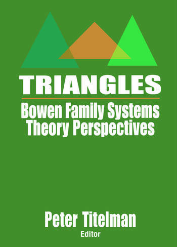 Triangles Bowen Family Systems Theory Perspectives book cover