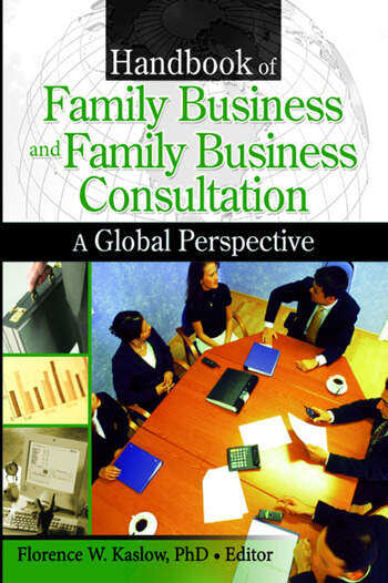 Handbook of Family Business and Family Business Consultation A Global Perspective book cover