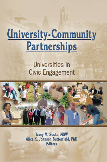 University-Community Partnerships Universities in Civic Engagement book cover