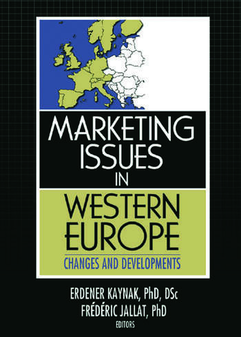 Marketing Issues in Western Europe Changes and Developments book cover