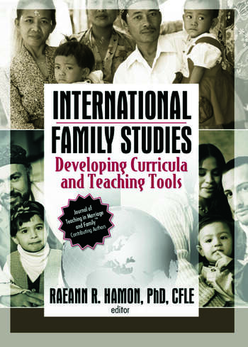 International Family Studies Developing Curricula and Teaching Tools book cover
