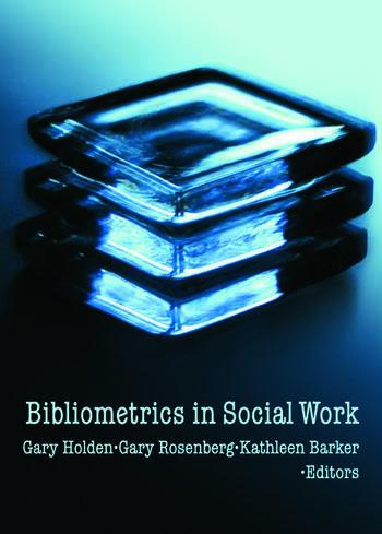 Bibliometrics in Social Work book cover