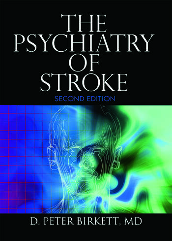 The Psychiatry of Stroke book cover