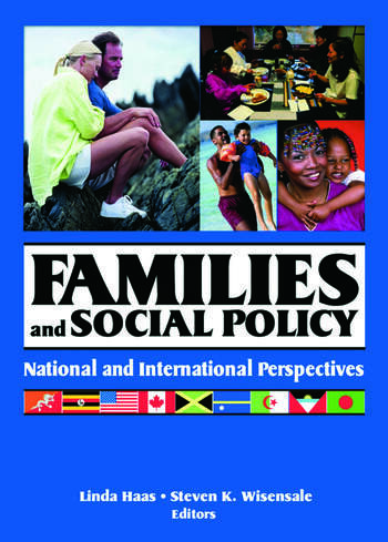 Families and Social Policy National and International Perspectives book cover