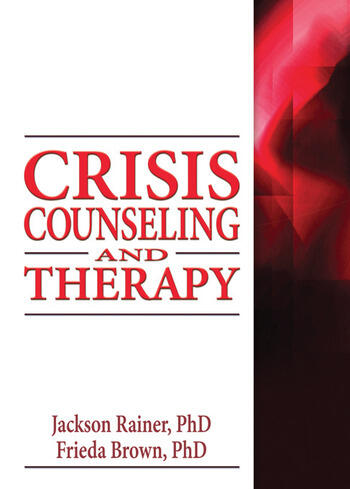 Crisis Counseling and Therapy book cover