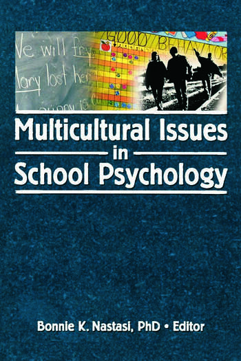 Multicultural Issues in School Psychology book cover